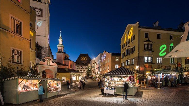 Haller Adventmarkt , © TVB Hall-Wattens/Gerhard Berger