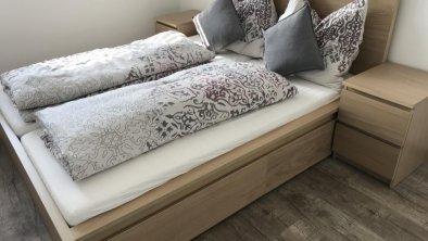 Schlafzimmer Ferienwohnung Peotta