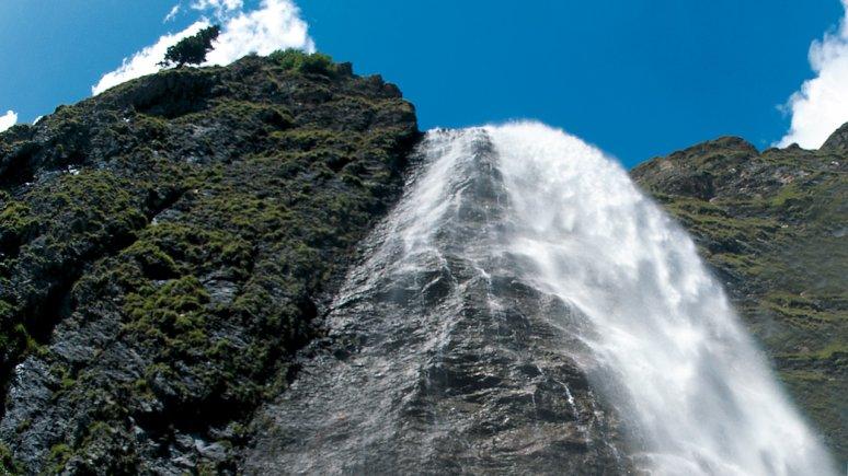Wasserfall Hintertux, © TVB Tux-Finkenberg