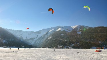 Snowkiten am Achensee, © Achensee Tourismus