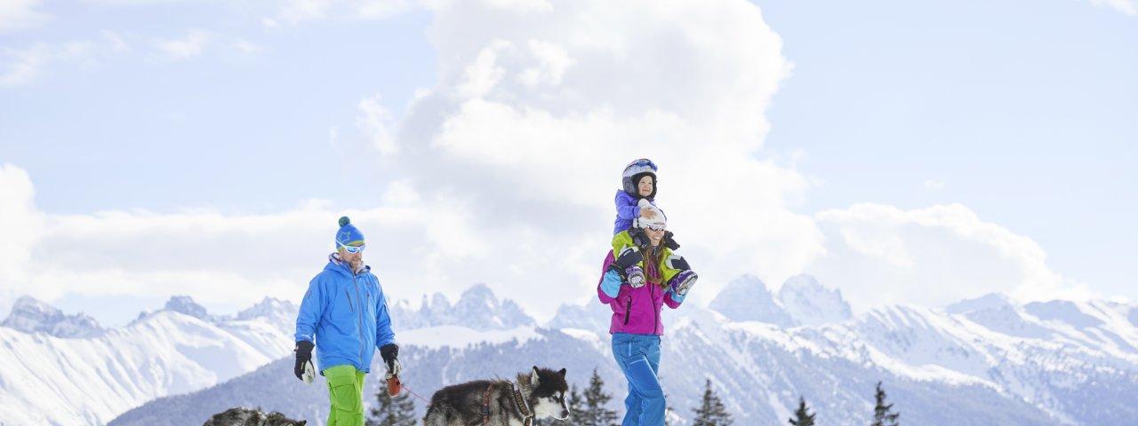 Winterwandern am Rangger Köpfle, © TVB Region Innsbruck/Christian Vorhofer
