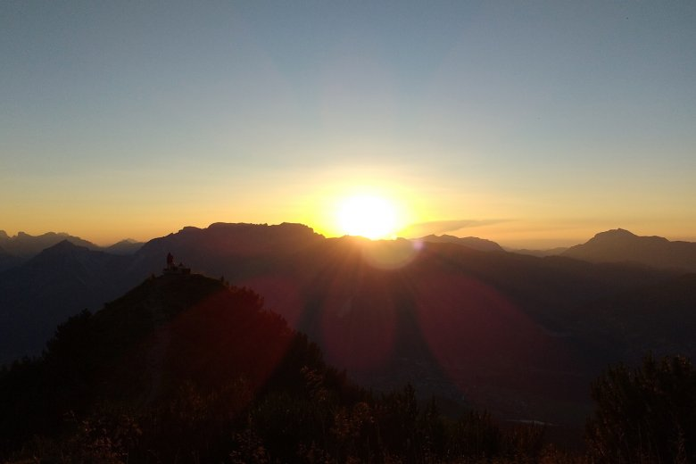 Sonnenuntergang Gratlspitz
