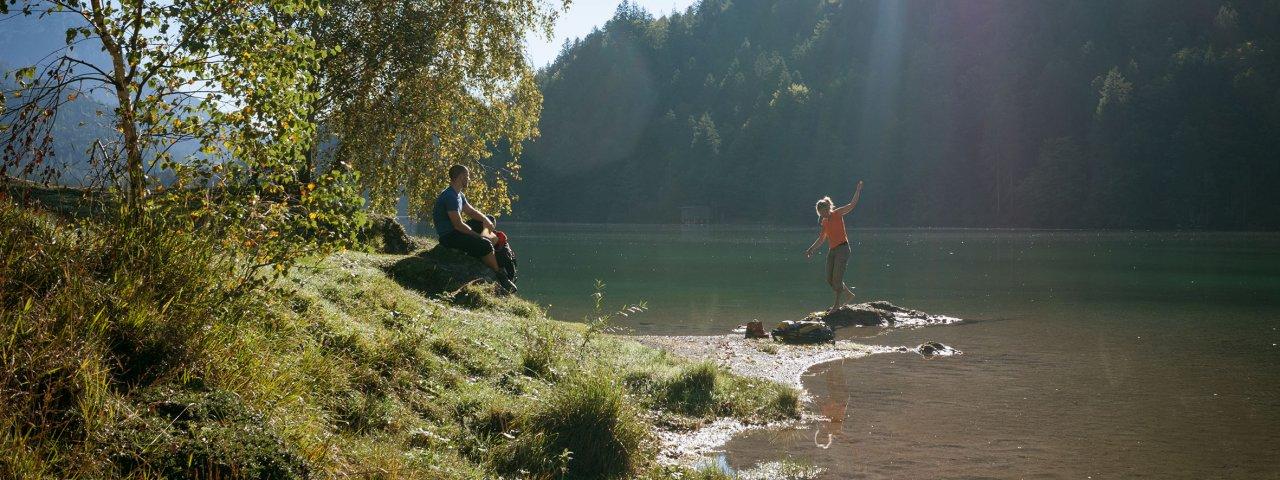 Adlerweg-Etappe 3: Hintersteiner See – Kufstein, © Tirol Werbung/Jens Schwarz