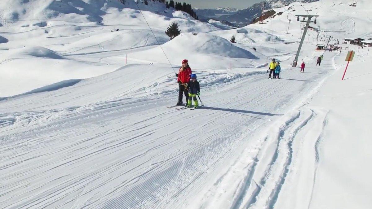 Schlepplift fahren, © Tirol Werbung