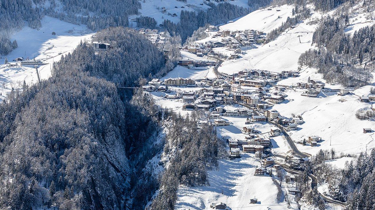 Finkenberg im Winter, © Archiv TVB Tux-Finkenberg / Johannes Sautner