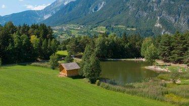 Badeweiher Trams, © Ferienregion TirolWest / Albin Niederstrasser