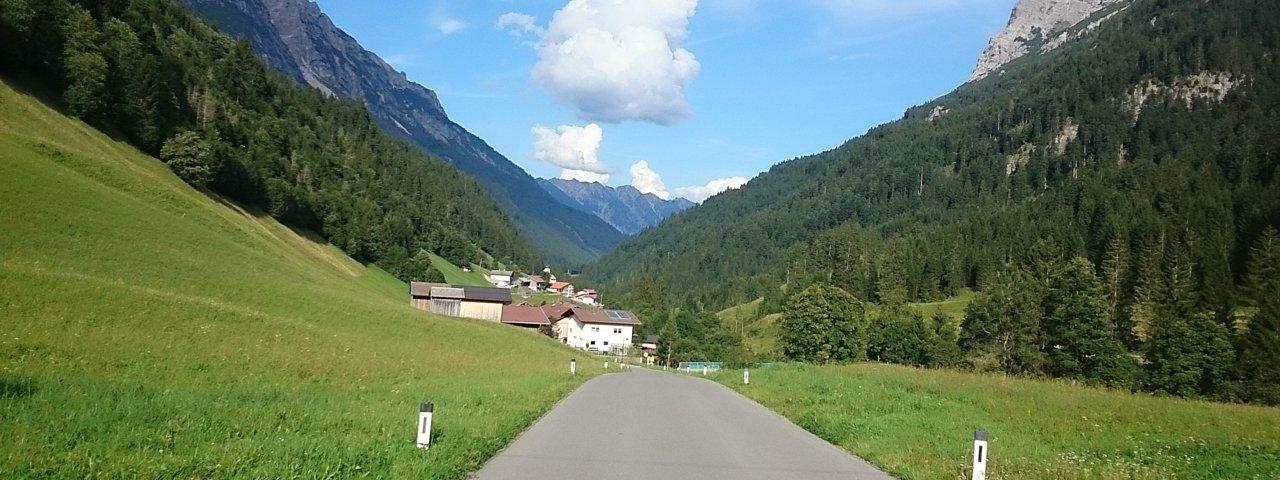 Radtour Vorderhornbach - Hinterhornbach, © Harald Hörmann