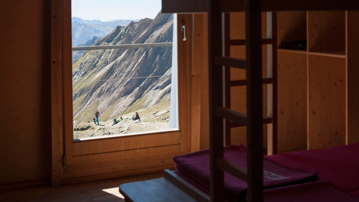 Adlerweg: Herrliche Ausblick von der Stüdlhütte, © Tirol Werbung