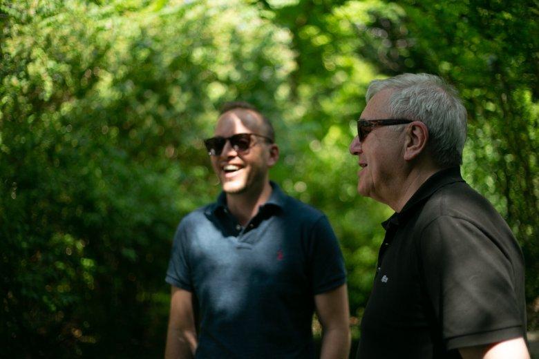 Gespräche unter Fachleuten: Jazzgitarrist John Arman und Komponist und Dirigent Howard Arman