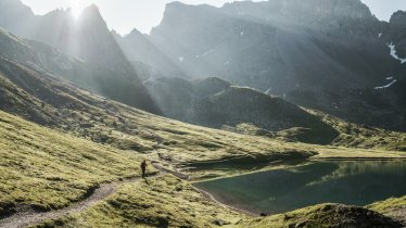 Der Steinsee am Lechtaler Höhenweg