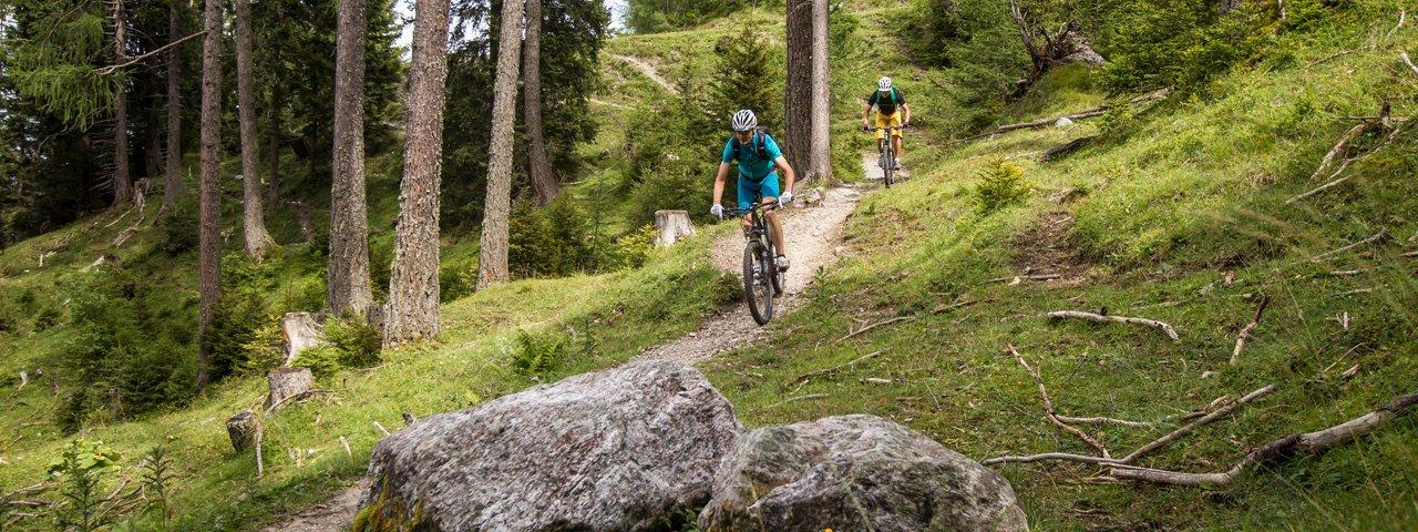 MTB-Tour Mutterer Almweg, © TVB Innsbruck/Erwin Haiden