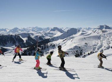 Skifahren mit Kindern in Tirol