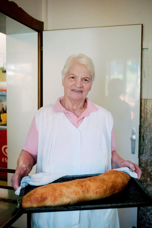Johanna Mairhofer kann alles, sagt ihr Sohn. Aber am besten ist wohl ihr Apfelstrudel.