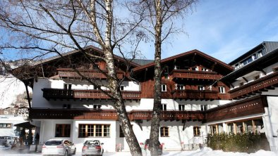 Winterbild - Valluga Hotel