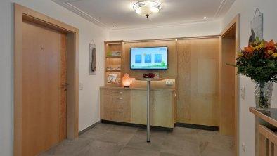 Infopoint im Eingangsbereich