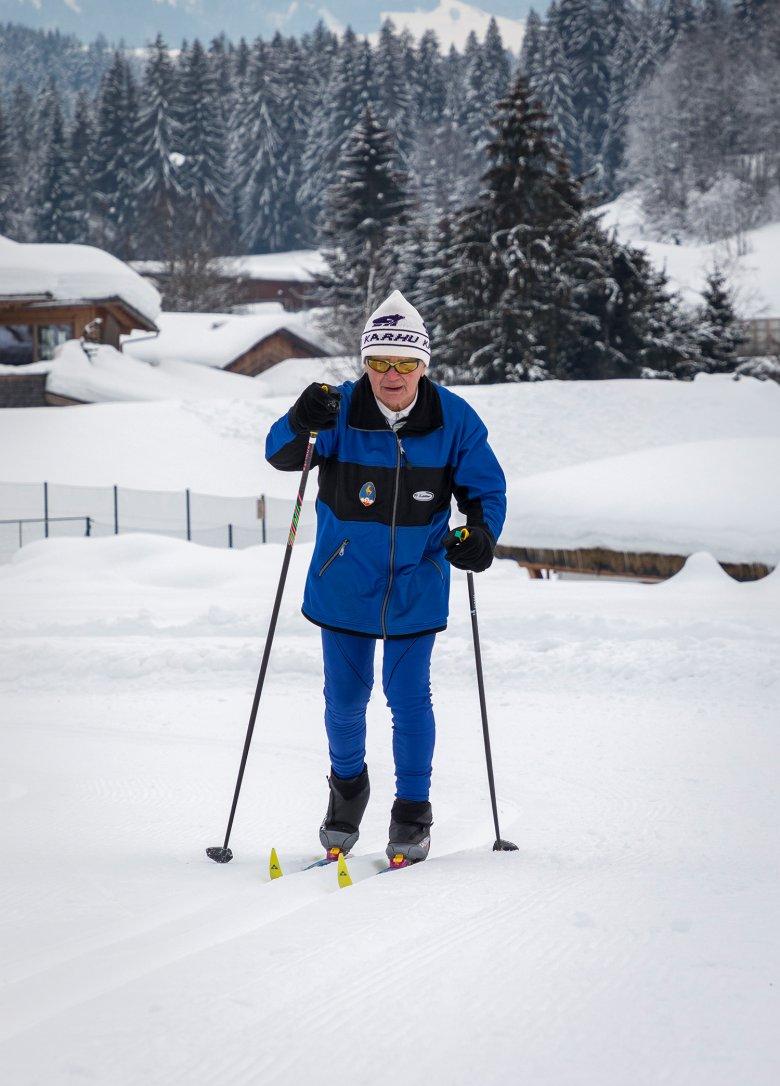 Franz Puckl bei den Vorbereitungen zum Koasalauf 2019. Foto: Axel Springer