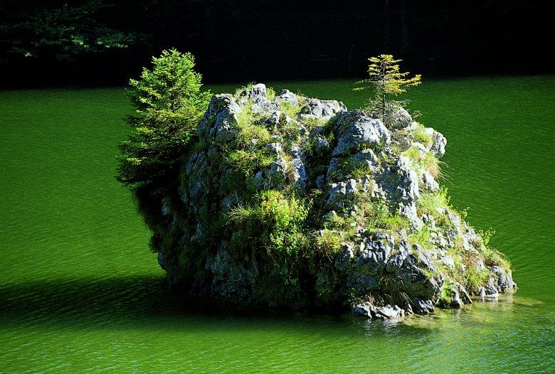 Zwei Liebende auf ewig vereint oder nur zwei Felsbrocken? Foto: Tirol Werbung