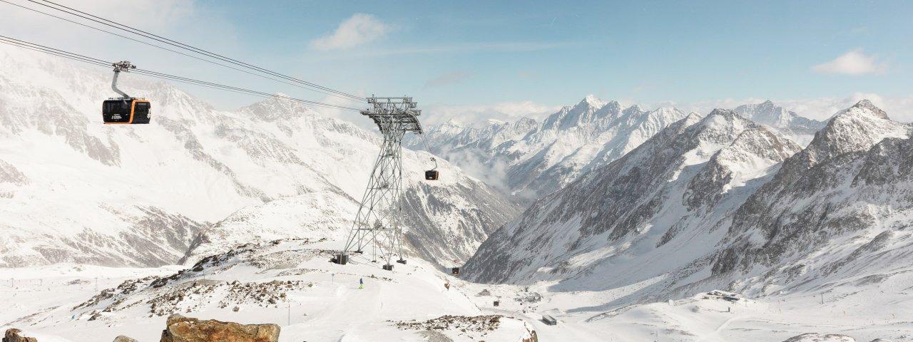 Eisgratbahn am Stubaier Gletscher, © Tirol Werbung/Gregor Sailer