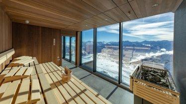 Sauna mit Ausblick Albergo Hochzillertal