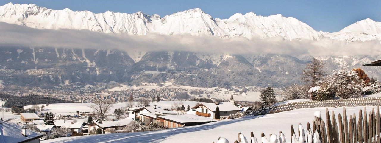 Sistrans im Winter, © Innsbruck Tourismus/Irene Ascher