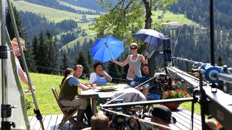 Bergdoktor-Dreharbeiten in Söll am Wilden Kaiser, © Susanne Sigl