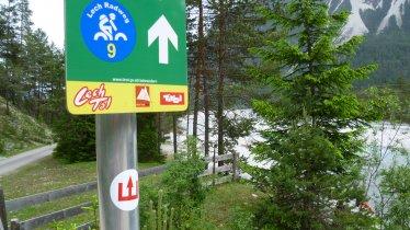 Etappe 1: Steeg - Weissenbach, © Tirol Werbung