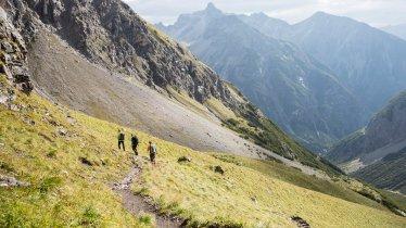 Weitwandern in den Lechtaler Alpen, © Tirol Werbung/Dominik Gigler