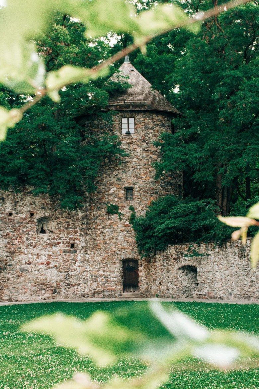 Die alte Stadtmauer von Lienz.