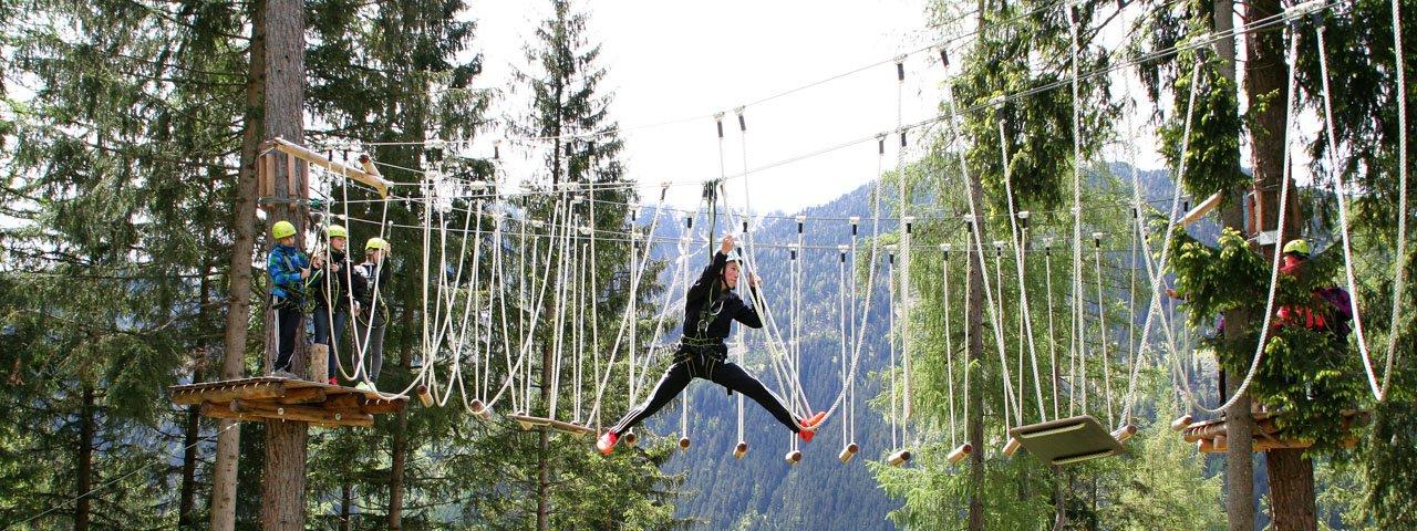 Waldseilgarten Jerzens, © Alpin Center Hochzeiger - Pitztal