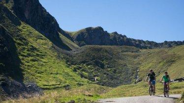 Mountain bike ride to the Gartalm hut, © Zillertal Tourismus