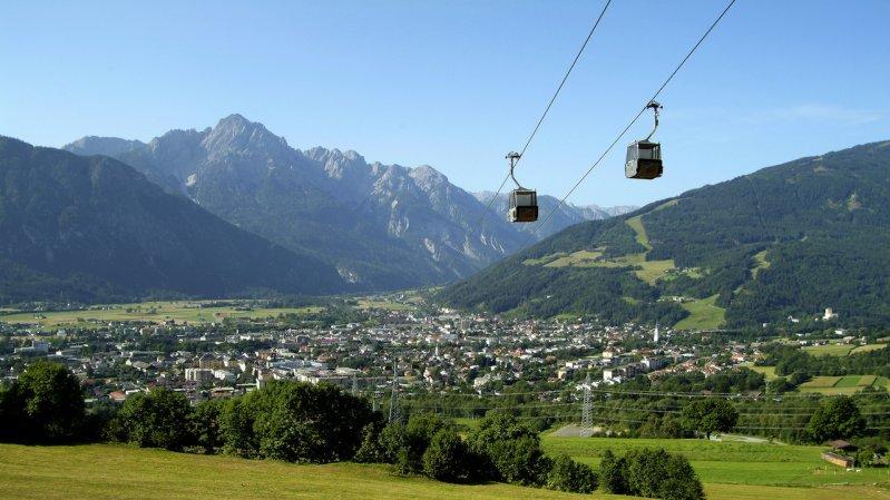Einseilumlaufbahn Zettersfeld in Lienz, © Lienzer Bergbahnen