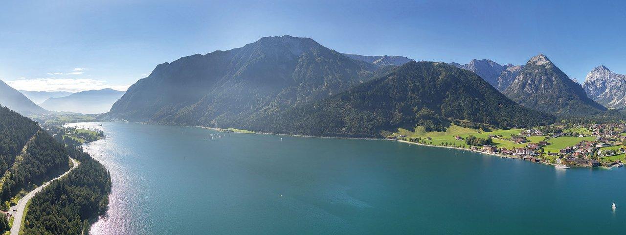 Achensee im Sommer, Blick auf Pertisau, © Achensee Tourismus
