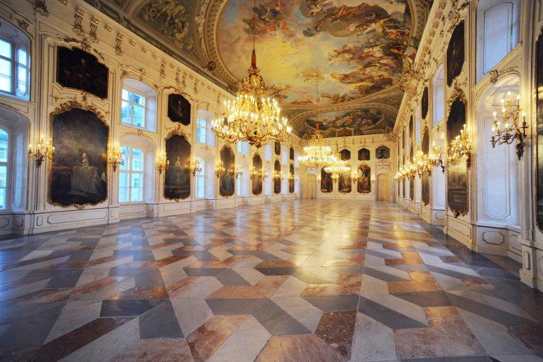 Der eindrucksvolle Riesensaal in der Hofburg Innsbruck. , © Tirol Werbung, Bernhard Aichner