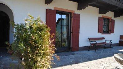 Eingangsbereich Gästehaus Katharina in Hochfilzen