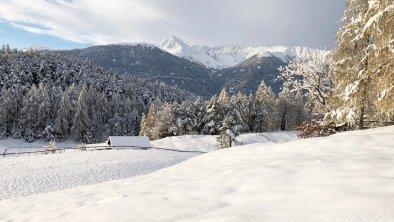 Winterlandschaft in Leithen bei Reith, © Olympiaregion Seefeld