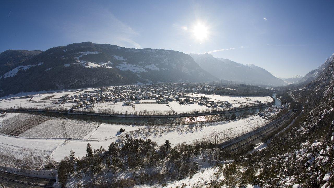 Haiming im Winter, © Ötztal Tourismus/Bernd Ritschel