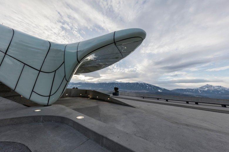 Die Stationen der Nordkettenbahnen wurden von Zaha Hadid entworfen. , © Tirol Werbung, Gregor Sailer